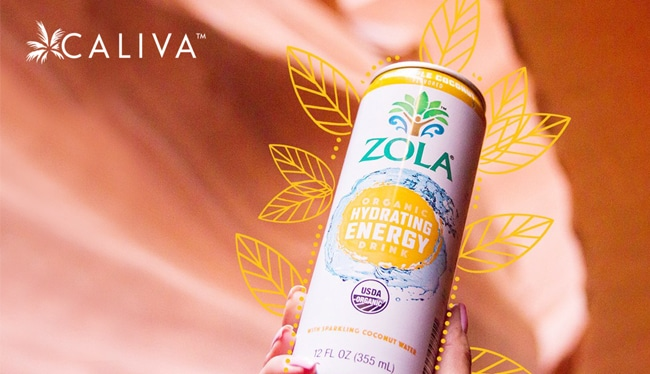 Cannabis Company Caliva acquires Zola to expand into CBD beverage sector