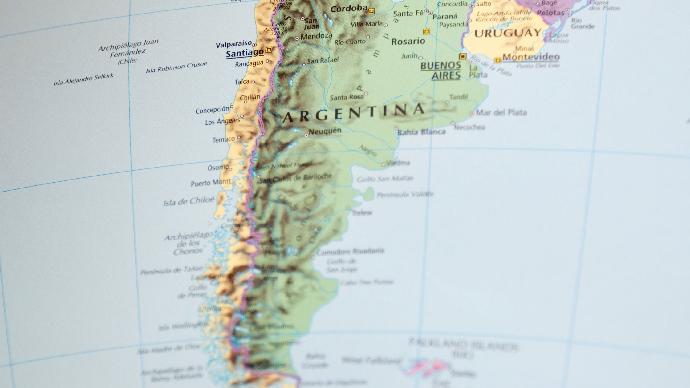 Magnitude 6.8 natural disaster  hits western Argentina